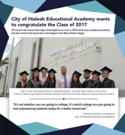 Congratulations to the H.E.A. Class of 2017 Graduates
